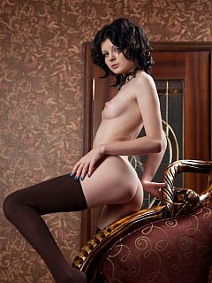 Brown Stockings, #12